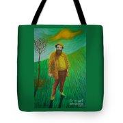 Portrait Of Claude Monet Tote Bag