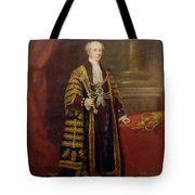 Portrait Of Colonel Sir Samuel Wilson, Lord Mayor Of London, 1838 Oil On Canvas Tote Bag