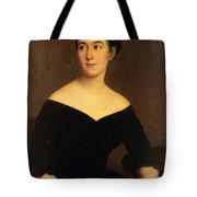 Portrait Of Cornelia Knott Miltenberger Tote Bag