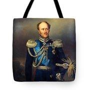 Portrait Of Count Alexander Benkendorff Tote Bag