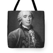 Portrait Of Count De Buffon Tote Bag