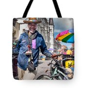 Portrait Of Doctor Luv In New Orleans Tote Bag