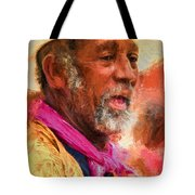 Portrait Of Dr. Luv - Painting Tote Bag