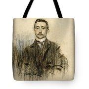 Portrait Of Eduardo Chicharro Tote Bag