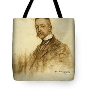 Portrait Of Emile Bertaux Tote Bag