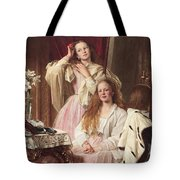 Portrait Of Emma And Frederica Bankes Tote Bag