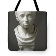Portrait Of Emmanuel Kant  Tote Bag by Friedrich Hagemann