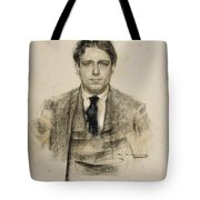 Portrait Of Eugeni D'ors Tote Bag