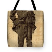 Portrait Of Ezequiel Boixet Tote Bag
