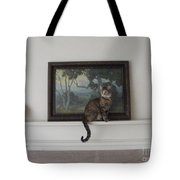 Portrait Of Feather Tote Bag by Nancy Kane Chapman