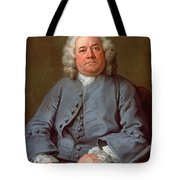 Portrait Of George Arnold Esq. Of Ashby Tote Bag