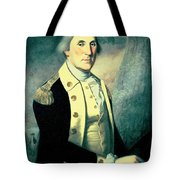 Portrait Of George Washington Tote Bag by James the Elder Peale