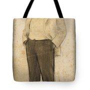 Portrait Of Hermenegild Miralles Tote Bag