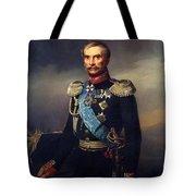 Portrait Of Illarion Vasilyevich Vasilchikov Tote Bag