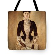 Portrait Of Isabella Reisser Tote Bag