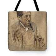 Portrait Of Iscle Soler Tote Bag