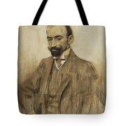 Portrait Of Jacinto Benavente Tote Bag