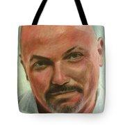 Portrait Of Jamez Ronald Prudlick Tote Bag