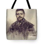 Portrait Of Jaume Carner Tote Bag