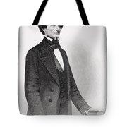 Portrait Of Jefferson Davis Tote Bag