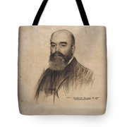 Portrait Of Joan Garriga Tote Bag