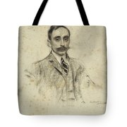 Portrait Of Joan Ventosa Tote Bag