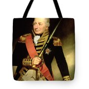 Portrait Of John Jervis First Earl Tote Bag