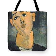 Portrait Of Juan Gris Tote Bag