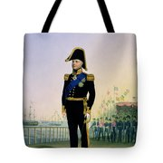 Portrait Of King William Iv Plate 14 Tote Bag