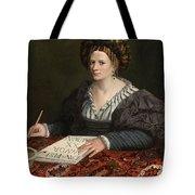 Portrait Of Laura Pisani Tote Bag