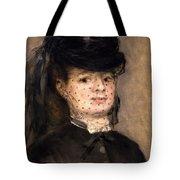 Portrait Of Madame Paul Darras Tote Bag