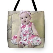 Portrait Of Maddie Tote Bag by Guido Borelli