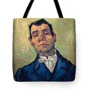 Portrait Of Man Tote Bag