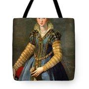 Portrait Of Maria De Medici Or Eleonora Di Garzia Di Toledo Tote Bag