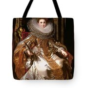 Portrait Of Maria Serra Pallavicino Tote Bag