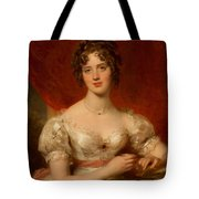 Portrait Of Mary Anne Bloxam Tote Bag by Thomas Lawrence