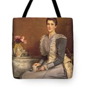 Portrait Of Mary Chamberlain Tote Bag