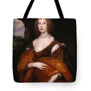 Portrait Of Mary Hill Tote Bag