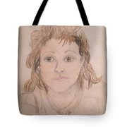 Portrait Of Michie Tote Bag