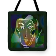 Portrait Of Milly Tote Bag