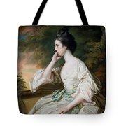 Portrait Of Miss Anne Dutton Tote Bag