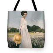 Portrait Of Mrs Lyndon B Johnson Tote Bag by Mountain Dreams