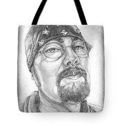 Portrait Of My Husband Tote Bag