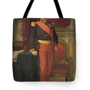 Portrait Of Napoleon IIi 1808-73 1862 Oil On Canvas Tote Bag