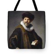 Portrait Of Nicolaes Ruts Tote Bag