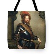 Portrait Of Nicolo Raggi Tote Bag by Bernardo Strozzi