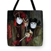Venetian Carnival - Portrait Of Nobles Tote Bag