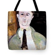 Portrait Of Paul Guillaume Tote Bag