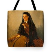 Portrait Of Pauline 1867 Tote Bag