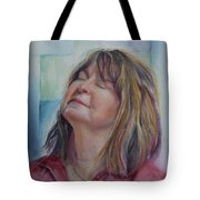 Portrait Of Peg Tote Bag